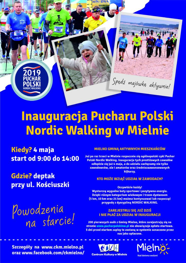 plakat nordic walking