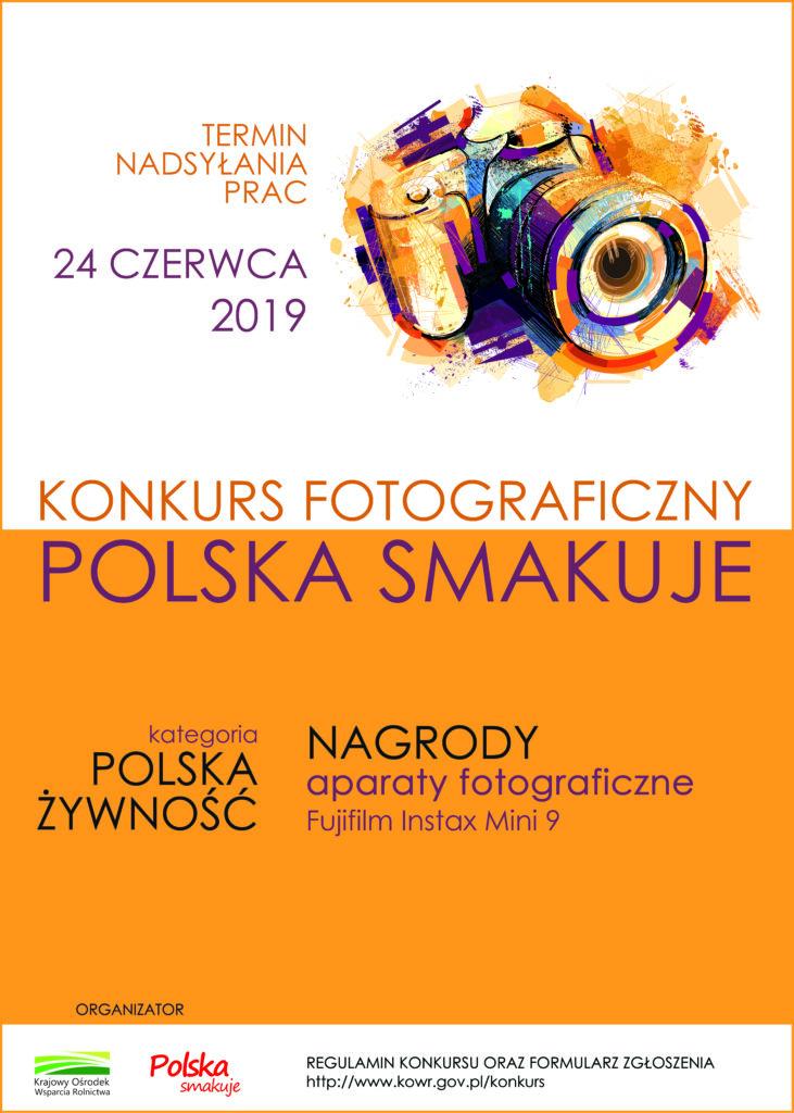 Plakat na konkurs foto_Polska smakuje