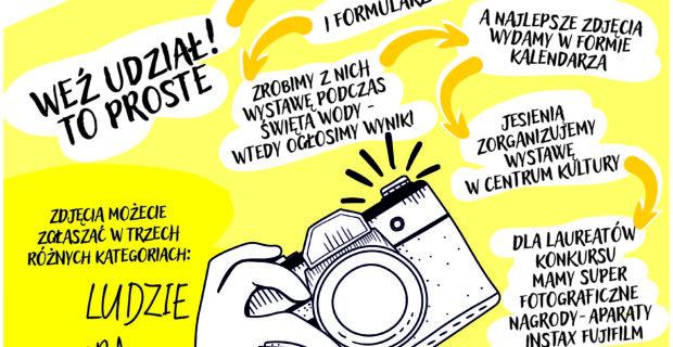 Weź udział w konkursie fotograficznym WODNE INSPIRACJE i wygraj super nagrody!