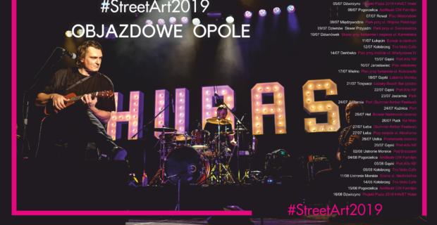 Projekt HUBAS trio w Gminie Mielno #StreetArt2019